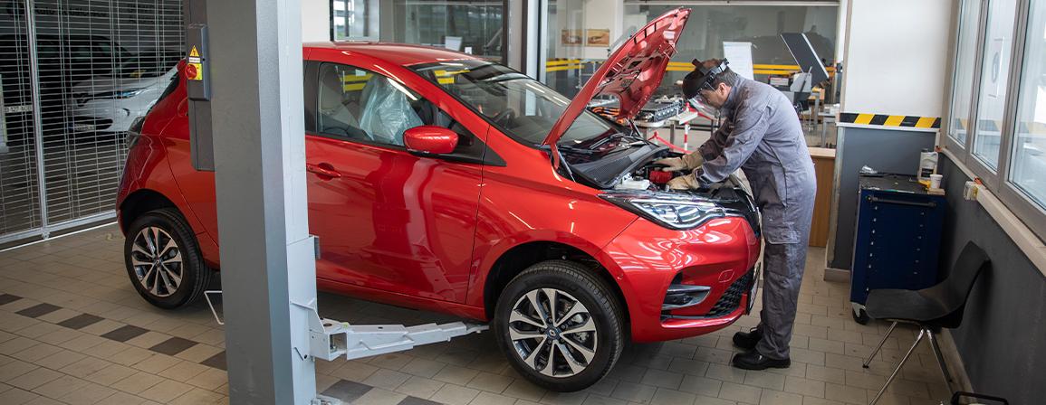 Atelier de reparat baterii de tracțiune pentru vehicule electrice